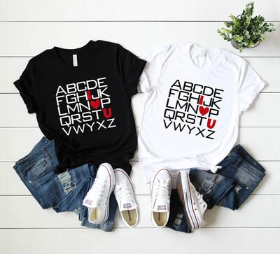 ABC's of Love - Tee
