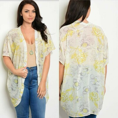 Sunny Floral Kimono