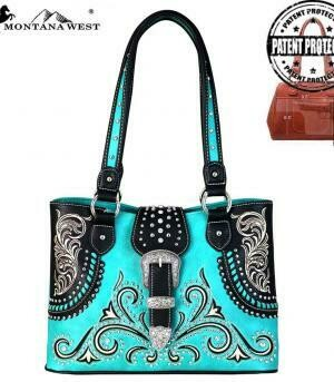 MONTANA WEST BUCKLE COLLECTION CONCEAL CARRY TOTE