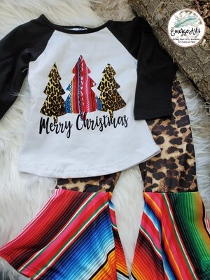 SERAPE CHRISTMAS 2PC SET