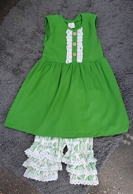 GREEN CACTUS 2PC SET