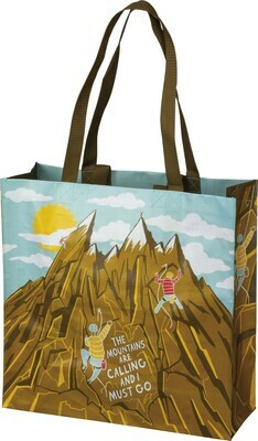 Primitives by Kathy I MUST GO market tote