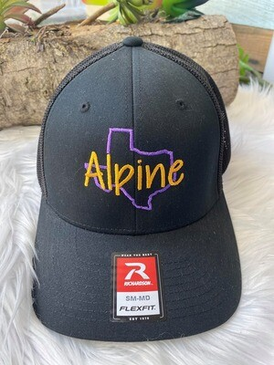 Fitted Alpine TX Hat