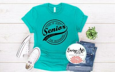 This is the beginning senior Tee