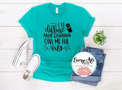 Diffuse the Situation Oils Tee