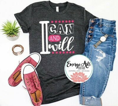 I can and Will Tee