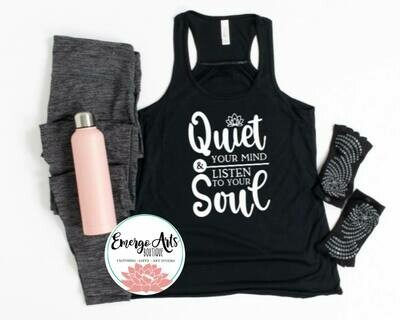 Quiet Your Mind Tank or Tee