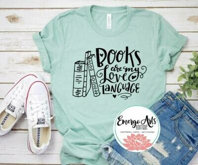 Book Love Language Tee