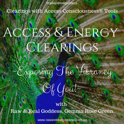 Exposing The Vibrancy Of You - Access & Energy Clearing.