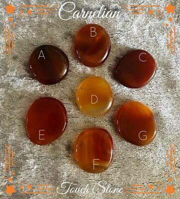 Carnelian Touch Stone