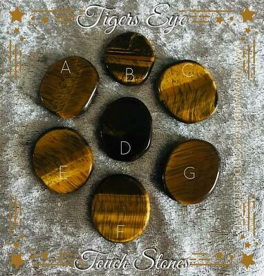 Tiger's Eye Touch Stone