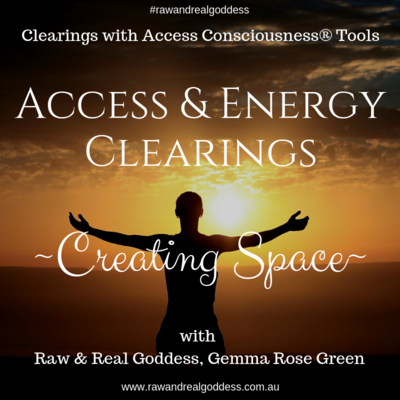 Creating Space ~ Access & Energy Clearing.
