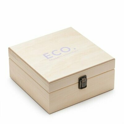 Wooden Essential Oils Box (36) by Eco.