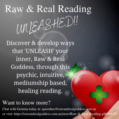 Raw & Real Reading; UNLEASHED!!