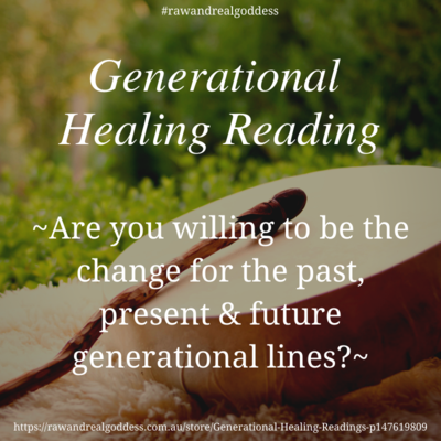 Generational Healing Readings