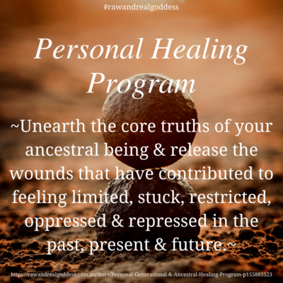 SELF Generational & Ancestral Healing Program