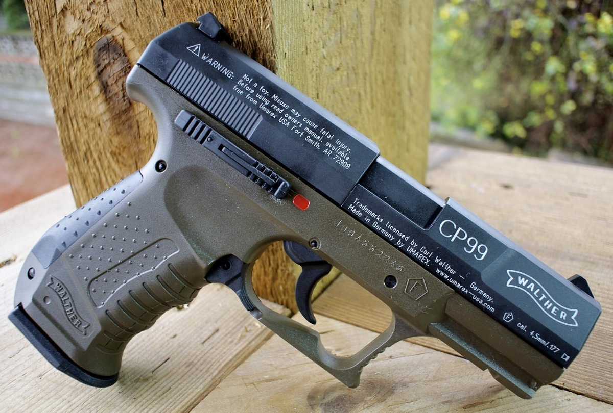 Walther CP99 Air Pistol - Military Olive