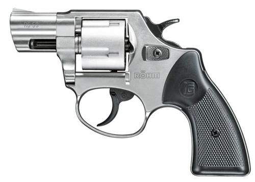 RG-59 Five Shot  380 Blank Revolver (Silver)
