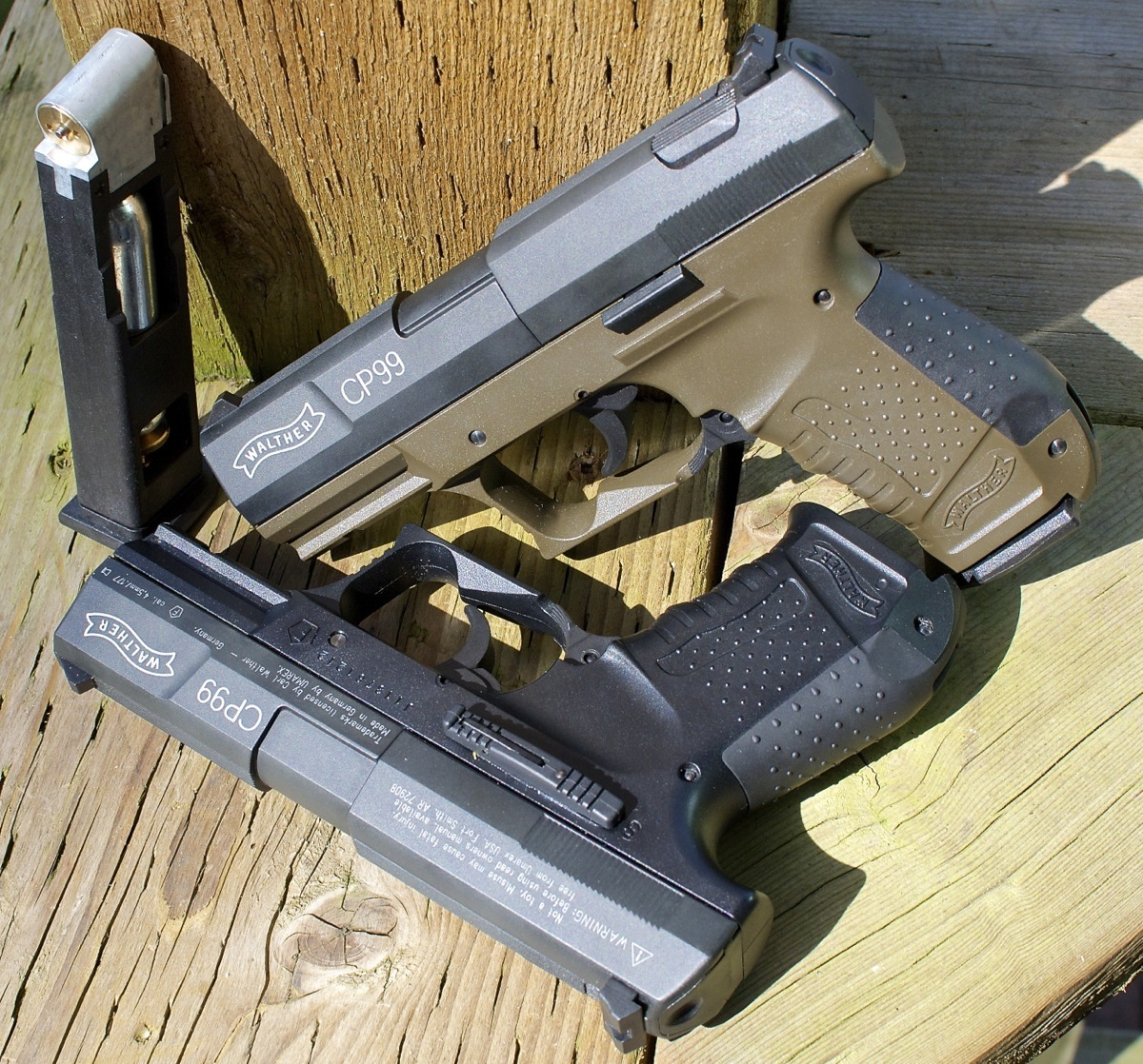 Walther CP99 Pellet Air Pistol - Black