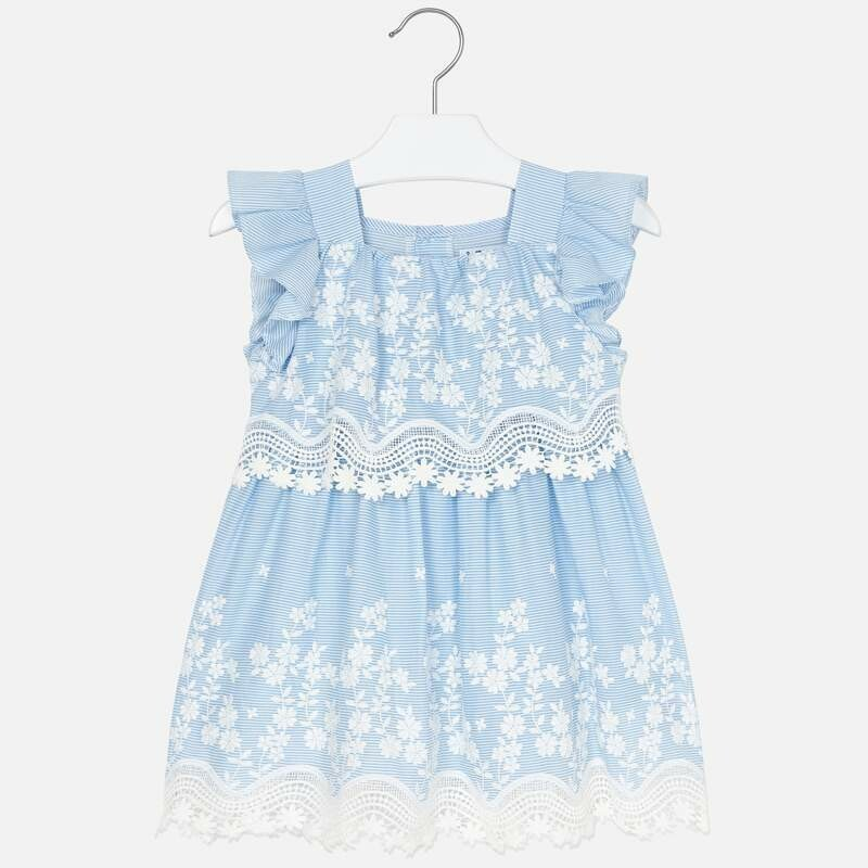 Mayoral Spring Lace Dress