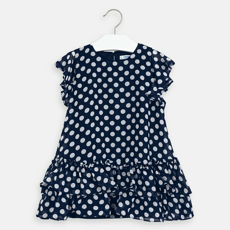 Mayoral Navy Dot Dress
