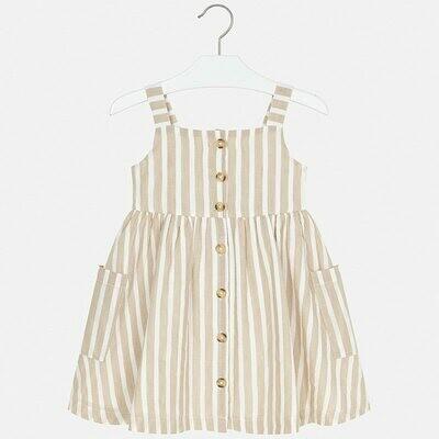 Mayoral Spring Striped Dress