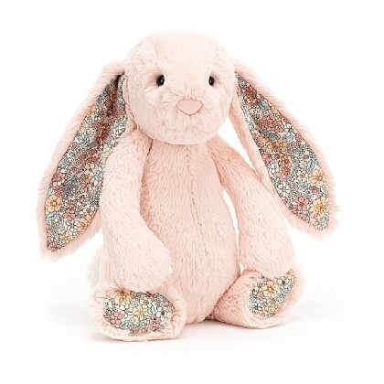 JellyCat Medium (12in) Bashful Bunny - Blossom Blush