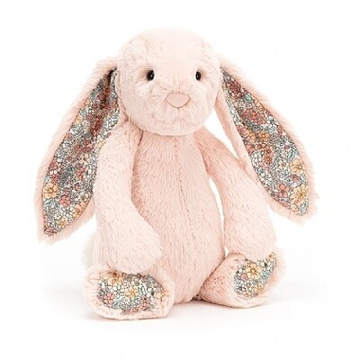 JellyCat Medium (12in) Bashful Bunny - Blossom Blush