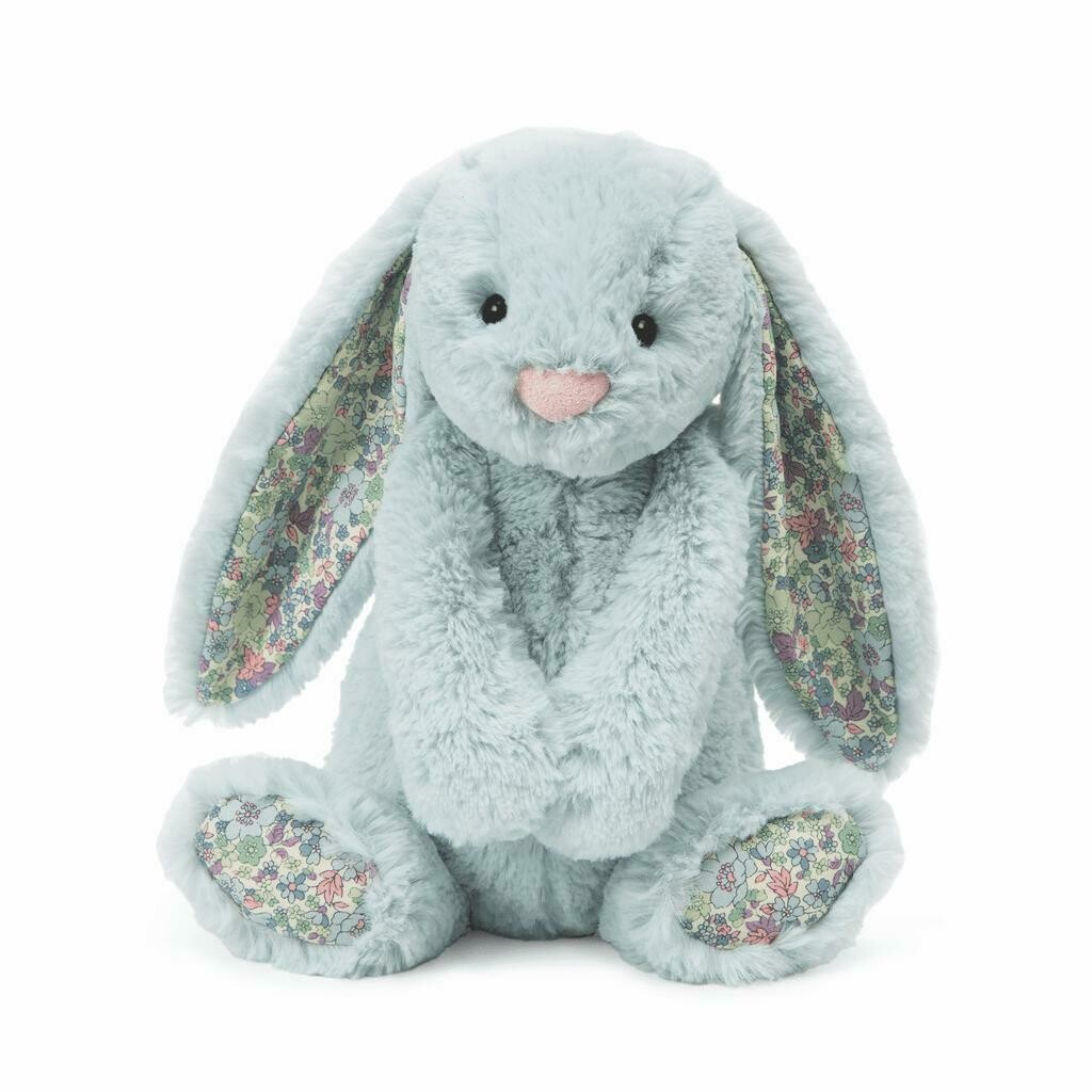 JellyCat Medium (12in) Bashful Bunny - Blossom Beau
