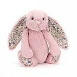 JellyCat Medium (12in) Bashful Bunny - Blossom Tulip