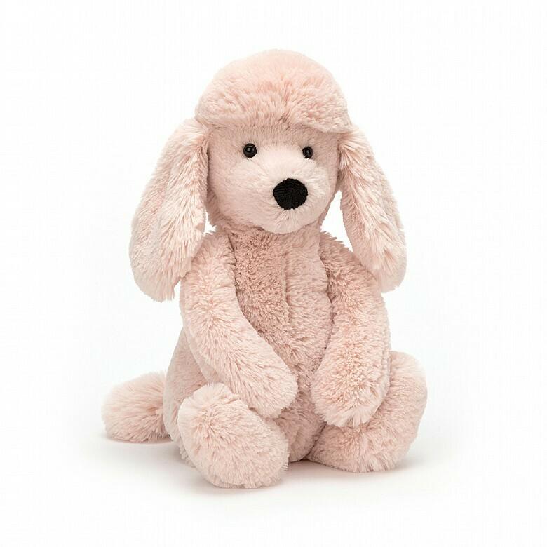 JellyCat Medium (12in) Bashful Poodle