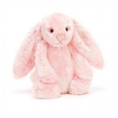 JellyCat Medium (12in) Bashful Bunny - Peony