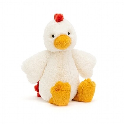 JellyCat Medium (12in) Bashful Chicken