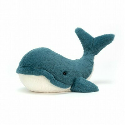 JellyCat Medium (12in) Wally Whale