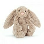 JellyCat Medium (12in) Bashful Bunny - Beige