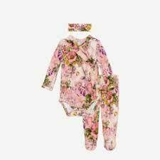 Posh Peanut June Kimono Set