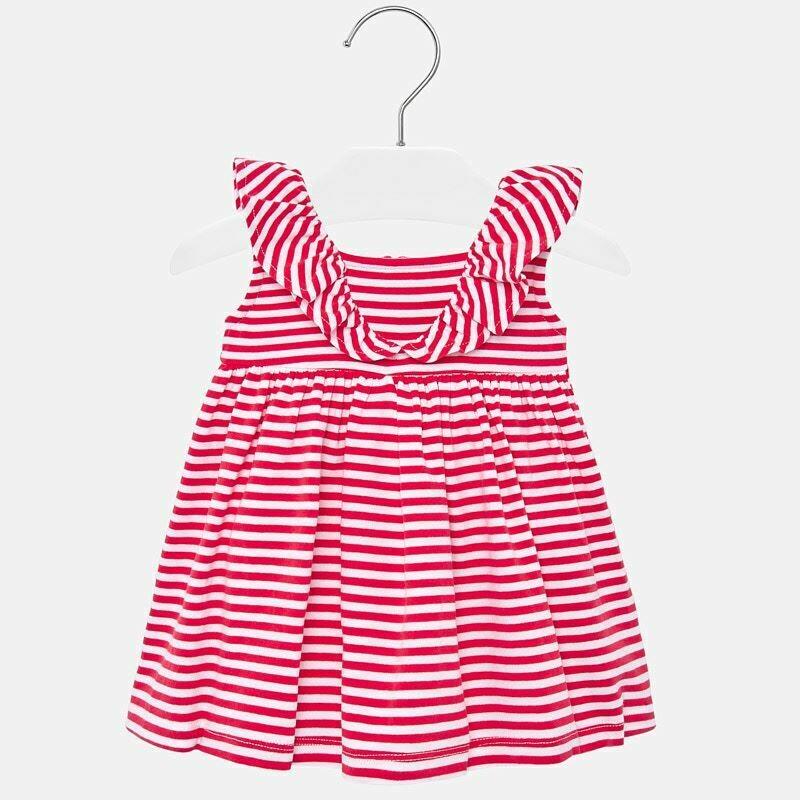 Mayoral Red Stripe Dress 1940