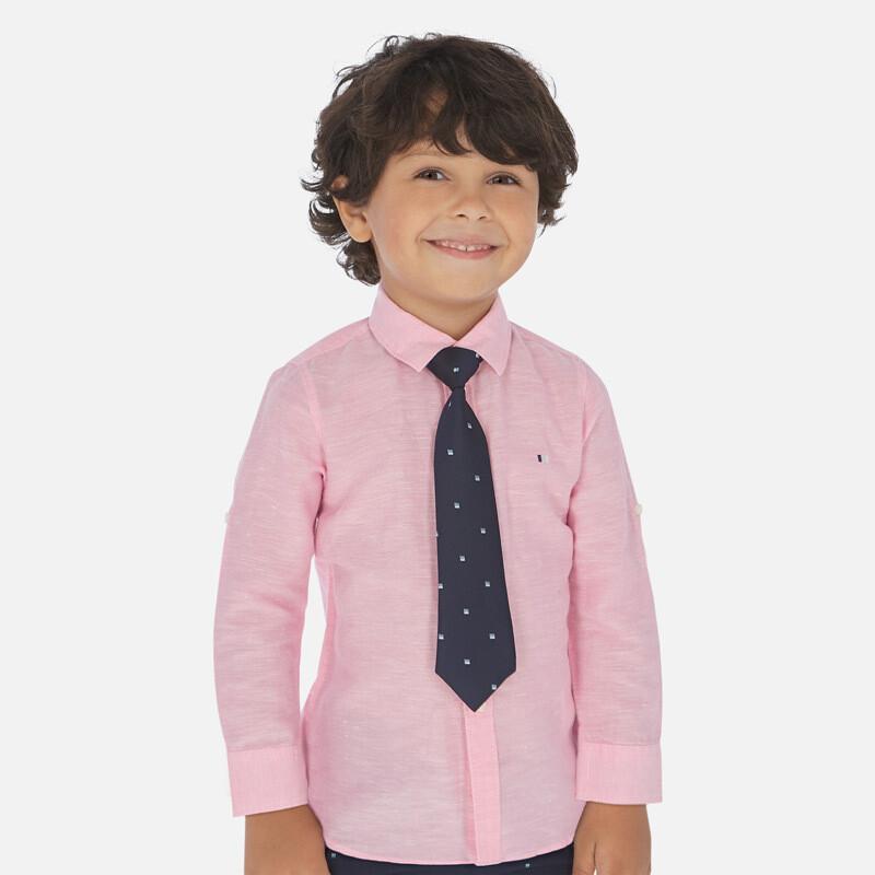 Mayoral Linen Shirt Pink