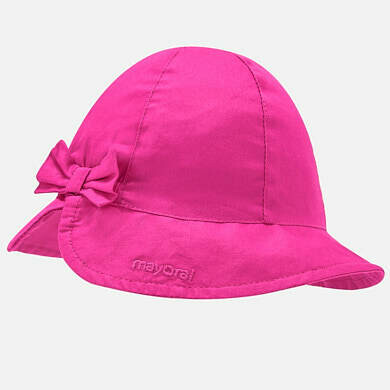 Mayoral Sun Hat Hot Pink 10744