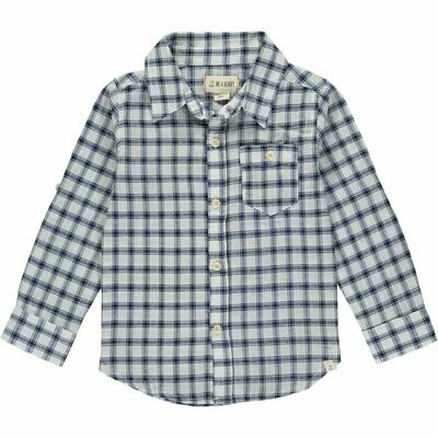 Me & Henry Navy Check Shirt