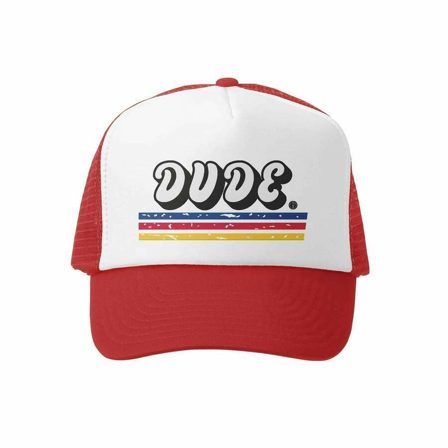 GROM SQUAD DUDE HAT RED