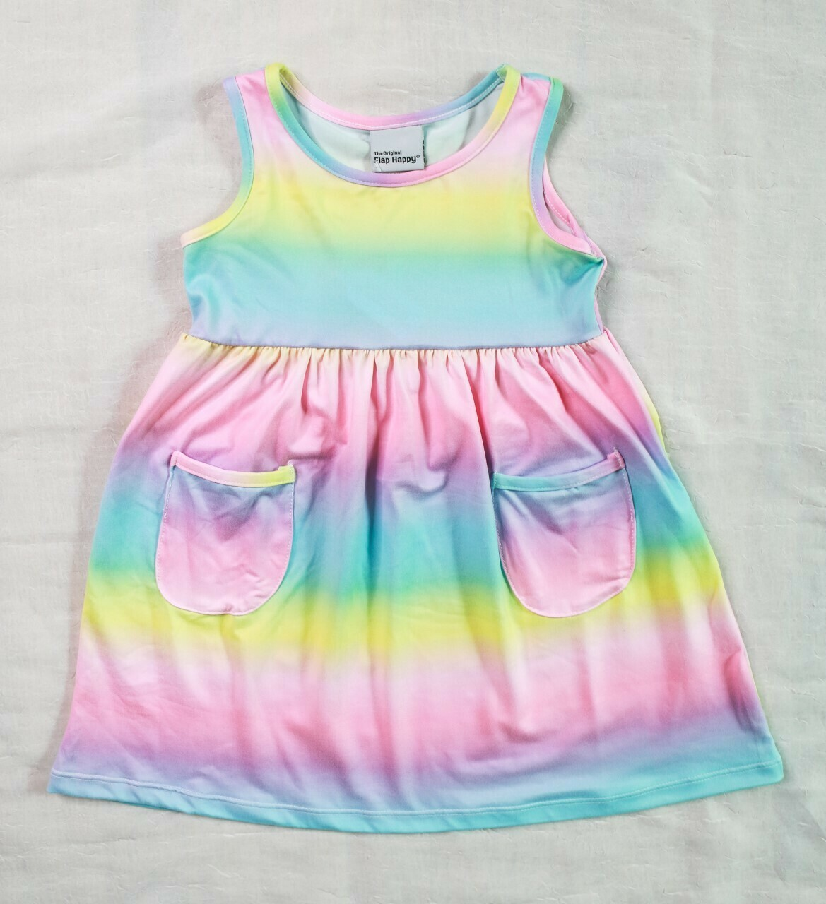 Flap Happy Rainbow Dress DAHB
