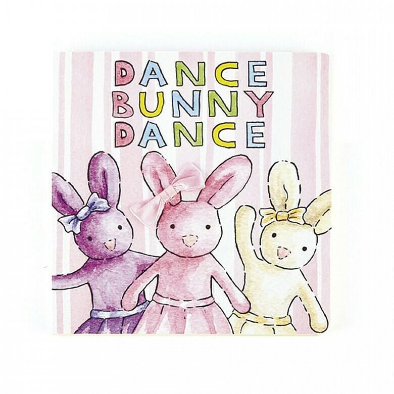 JellyCat Dance Bunny Book