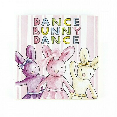 JellyCat Dance Bunny Book