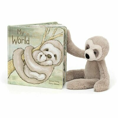 JellyCat My World Book