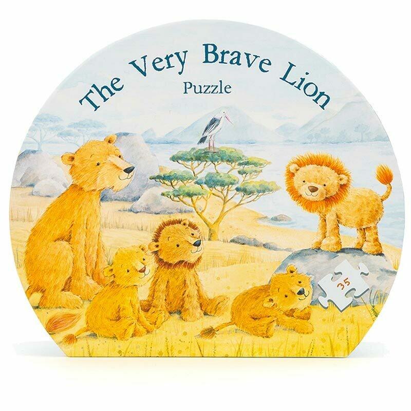 JellyCat The Very Brave Lion Puzzle