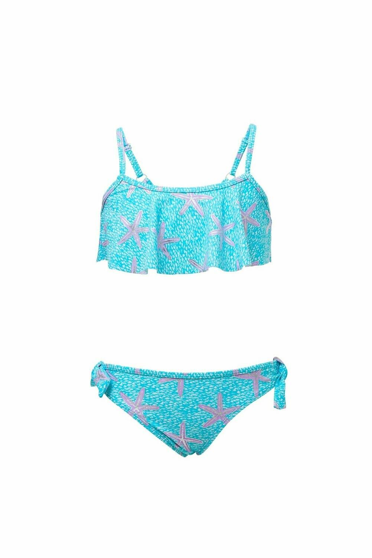 Snapper Rock Ocean Star Flounce Bikini