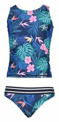 Snapper Rock Rain Forest Sports Tankini