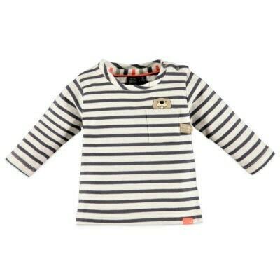 Babyface Boys T-shirt stripe SHADOW  #0127603
