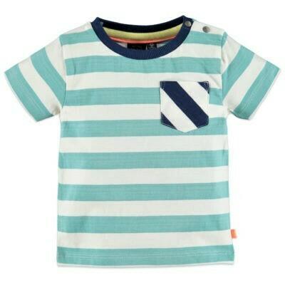 Babyface Boys T-shirt MARINE stripe #0127647